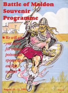 Battle of Maldon Programme