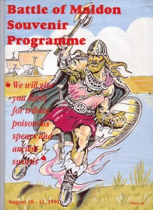 Battle of Maldon Programme