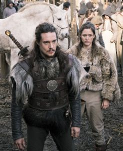 Alexander Dreymon. Stand well back Brida or he#ll have your eye out