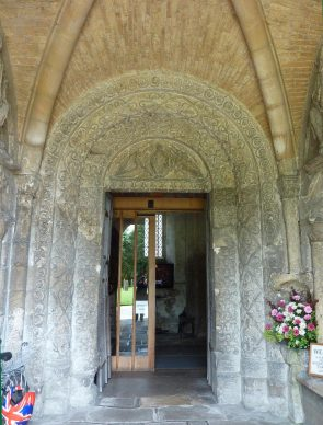 Malmesbury Abbey, Norman doorway