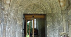 Malmesbury Abbey, Norman doorway