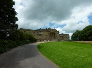 Stourhead House, after the rain