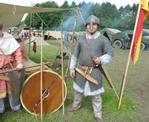 Viking Warrior - not an Anglo-Saxon. How do you tell the difference?