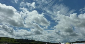 Clouds - can you spot the plane?