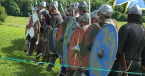 The Anglo-Saxon Shield Wall.