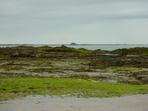 Lindesfarne from Bamburgh Beach