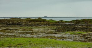 Lindesfarne from Bamburgh Beach