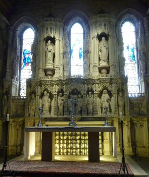 Reredos in St Aidens Church