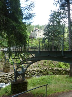 Cragside and bridge