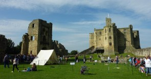 Warkworth Castle, Bailey