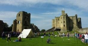 Warkworth Castle, Bailey