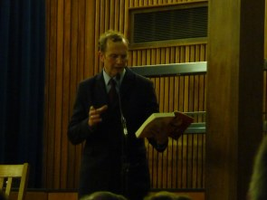 """C C Humphreys reading from his book """"Fire"""" I've already bought two books about 1666, do I need another?"""