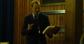 "C C Humphreys reading from his book ""Fire"" I've already bought two books about 1666, do I need another?"