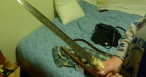 Thank You Matthew (Come up to my room and I'll show you my Seax) Harffy
