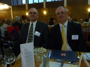 Chris and Richard. Managed to include the menu as well