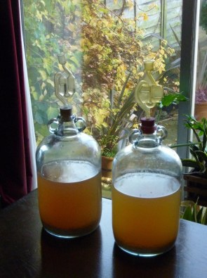 Mead ready for racking