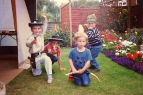 Back Garden, August 1988