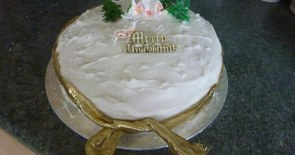 At least the Christmas Cake is ready!